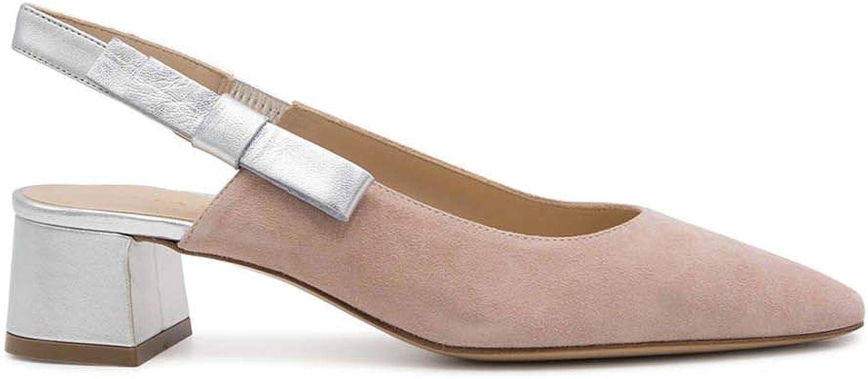 LA SELLERIE Women's 2673PINK Pink Suede Sandals