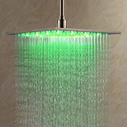 best ceiling mounted rain shower head. Best Ceiling Shower Heads With Reviews  B Y 12 Inch LED Bathroom Stainless Steel Review Head 5 Top Rated Deals 2016 2017