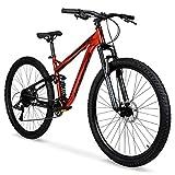 Hyper 29' Explorer Men's Dual Suspension Mountain Bike, Red