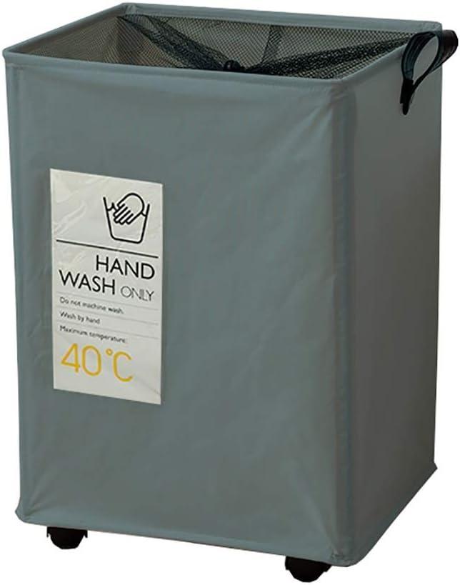 ZSH Washington Mall Laundry Hamper Basket On Wheels Oxford Cloth Tampa Mall Water