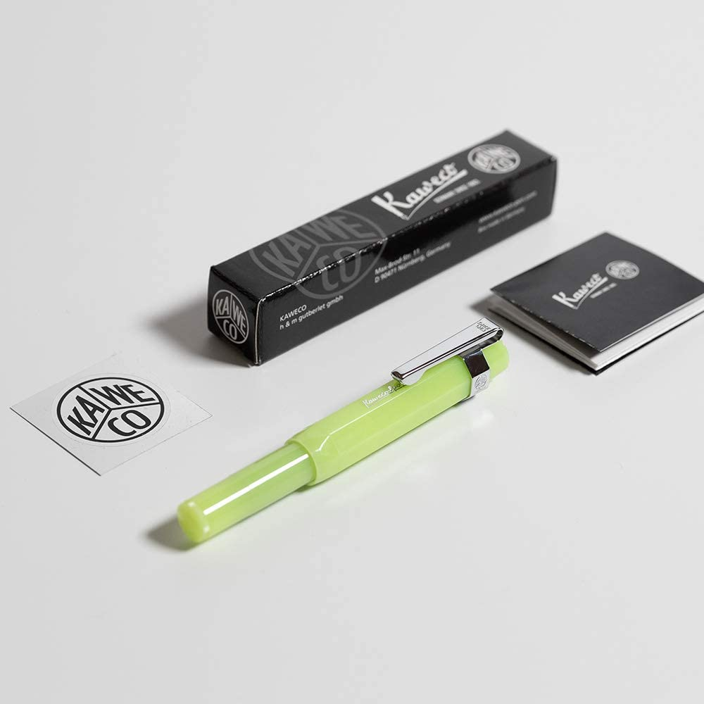 Medium Point New in Giftbox Kaweco Ice Sport Fountain Pen Black 10001156