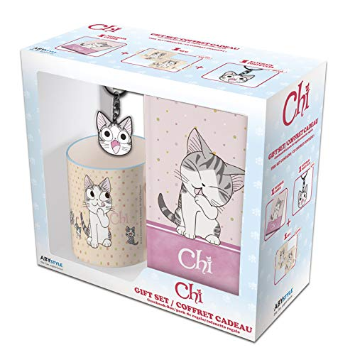 ABYstyle - CHI Pack Mug320ml + Llavero + Notebook'Chi'