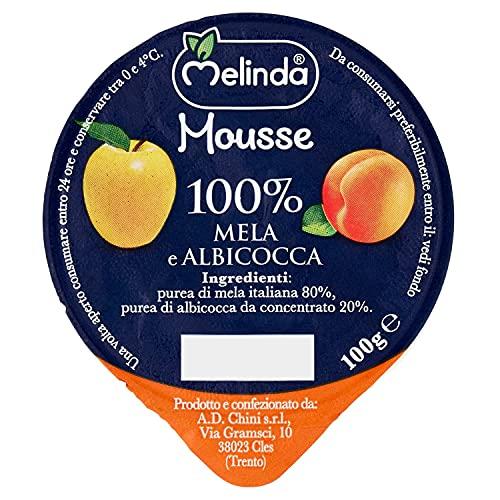 Melinda Mousse Frutta,  Confezione da 18