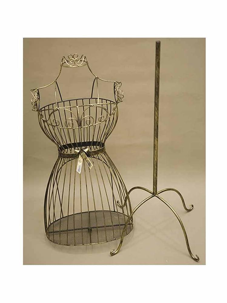 アパル彫るフェンスマネキン ボディ トルソー 姫家具 :interior-ak-SA881874 (ダークゴールド)