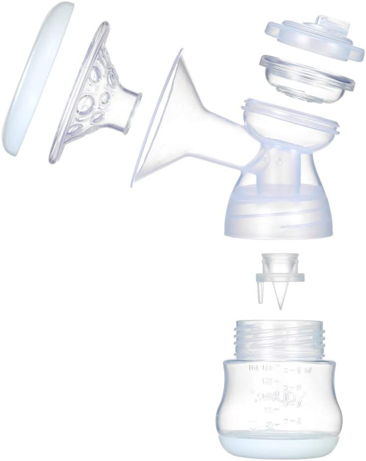 Flasche mit Saugnapf S/äuglinge Schnuller elektrische Milchpumpe f/ür Babys sicher Decdeal Milchpumpe Arbeit Massageger/ät f/ür Reisen BPA-frei