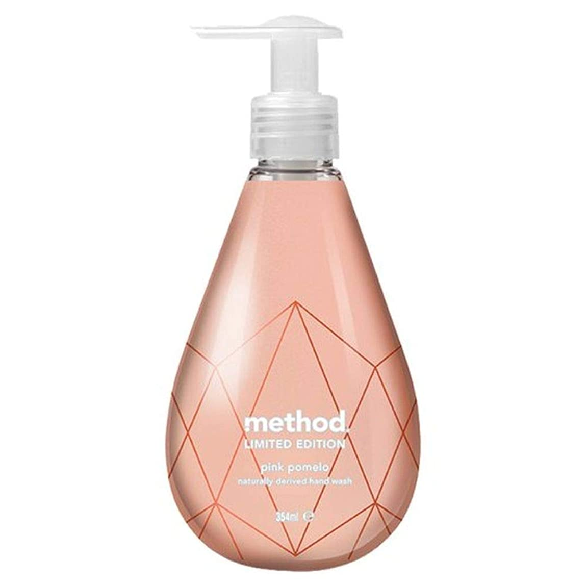 パーツティーンエイジャー不承認[Method ] 方法ピンクザボン手洗いゲル354ミリリットル - Method Pink Pomelo Hand Wash Gel 354Ml [並行輸入品]