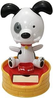 Kanzd Shaking Head Doll Solar Powered Dancing Swinging Animated Bobble Dancer Toy Car Decor Dog
