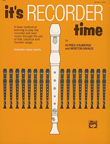 It's Recorder Time (English Edition)