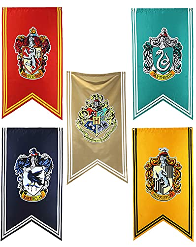 ZZLYY Poster von Harry Potter Hogwarts Poster Flagge Banner