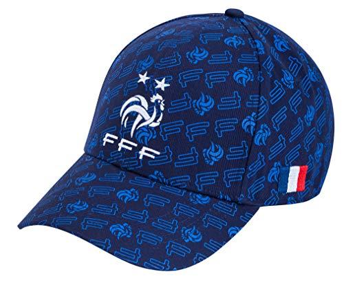 Equipe de FRANCE de football Casquette FFF - 2 étoiles - Collection Officielle Taille réglable