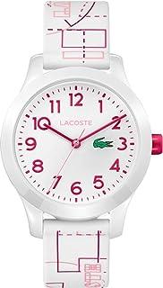 Lacoste Unisex-Child Quartz Watch, Analog Display and Silicone Strap 2030009