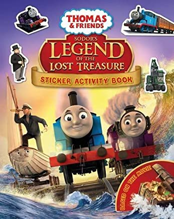 Thomas & Friends: Sodors Legend of the Lost Treasure Movie Sticker Book by NO AUTHOR(2015-08-27)