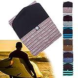 Sacche da Surf Leggere, Borsa per Calzini da Surfboard, Ideale per Escursioni in Spiaggia, 5'1'' & 8'0'' Due Dimensioni Scegli,Rosso,8'0''
