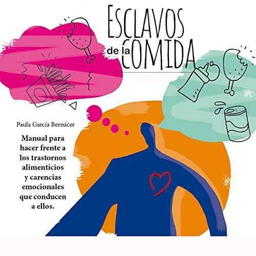 Diseño de la portada del título Esclavos de la comida (Narración en Castellano)