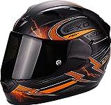 Scorpion Casco Moto EXO-1200 Air Fulgur, Matt black/orange, m