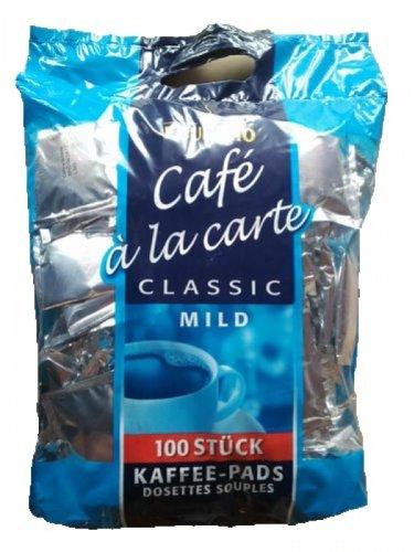 EDUSCHO Cafe a la carte Classic Mild 100 Kaffee-Pads 700g