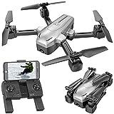 Simulus Drohne: Faltbarer GPS-Quadrocopter mit 4K-Kamera, WLAN, Follow-Me, Gyroskop (Drohne GPS)