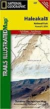 Trails Illustrated Haleakala National Park Trails Map