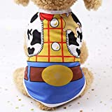 Veste pour Chien Vêtement Dessin Animé Imprimé Chien Chemise Pas Cher Chien Vêtements pour Petits Chiens Chihuahua T-Shirt Mignon Chiot Gilet Yorkshire Terrier Vêtements pour Livraison Gratuite
