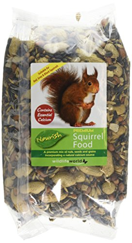 Wildlife World Nourish Squirrel Food with Added Calcium