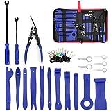 UTSAUTO - Set di 37 strumenti per la rimozione di finiture audio per la rimozione del pannello dell'auto, con custodia