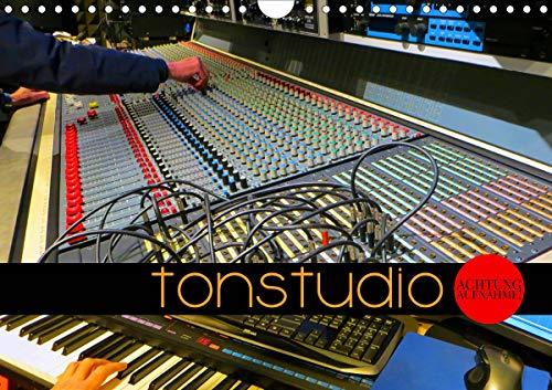 TONSTUDIO - Achtung Aufnahme! (Wandkalender 2021 DIN A4 quer)