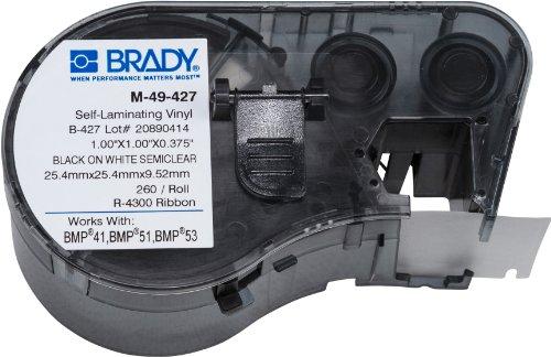 Brady M-49-427 Etiketten für BMP41/BMP51/BMP53 Etikettendrucker