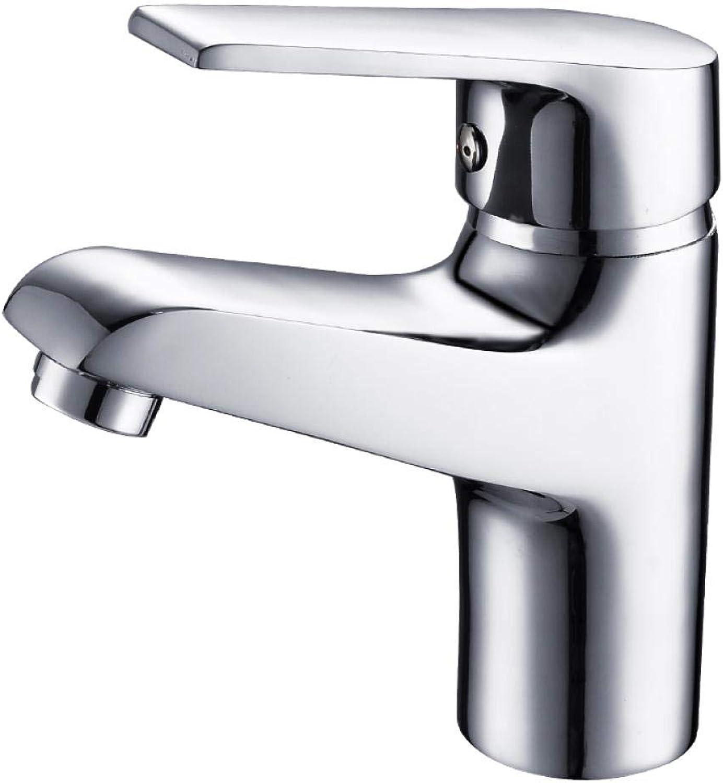 Wasserhahnheie Und Kalte Einloch-Waschtischmischer Kupfer Waschbecken Wasserhahn