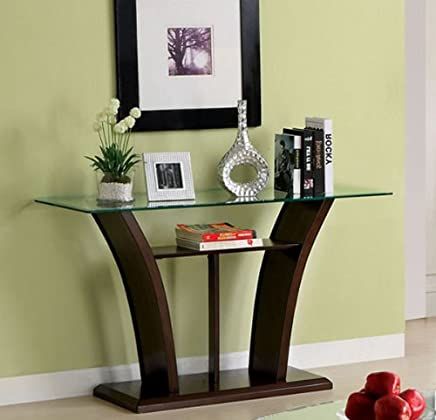 featured product 247SHOPATHOME IDF-4104S,  Sofa Table,  Cherry