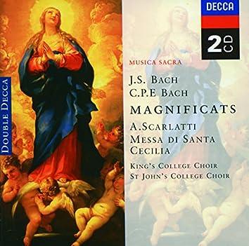 Bach, JS/Bach, CPE: Magnificats/Scarlatti: Messa di Santa Cecilia
