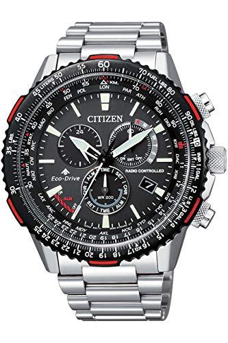 [シチズン] 腕時計 プロマスター スカイ エコ・ドライブ電波時計 ダイレクトフライト CB5001-57E メンズ