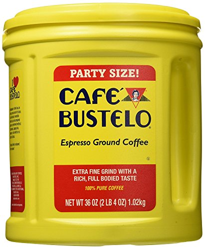 Cafe Bustelo Coffee Espresso, 36-Ounce Cans (Pack of 2)