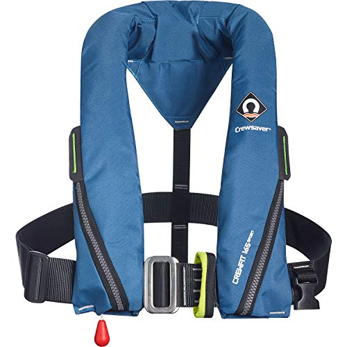 Crewsaver Crewfit 165N Sport Automatic Harness Lifejacket 9715BA - Blue
