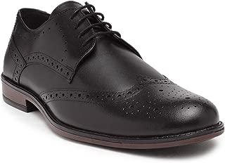 NOBLE CURVE Leather Brogue Derby Shoes