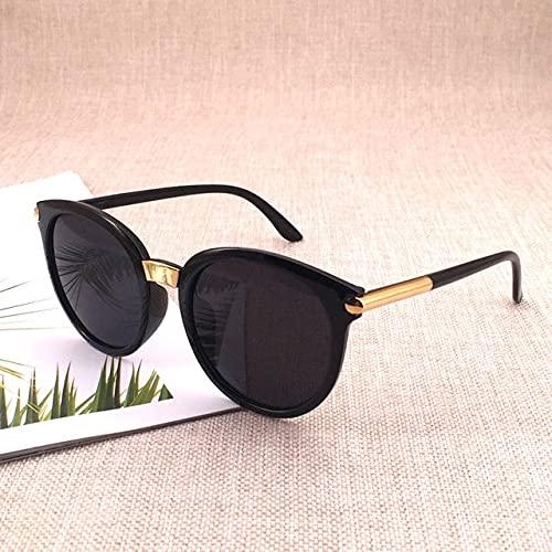 Classic Round Retro Sunglasses Ladies Fashion Brand Design Mirror Sunglasses Women Color Retro-Glasses