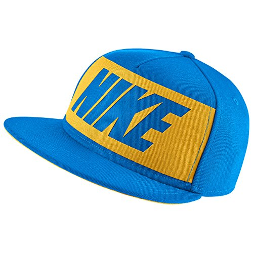 Nike True Graphic Pack Youth Adjustable Hat (Photo Blue/Varsity Maize)