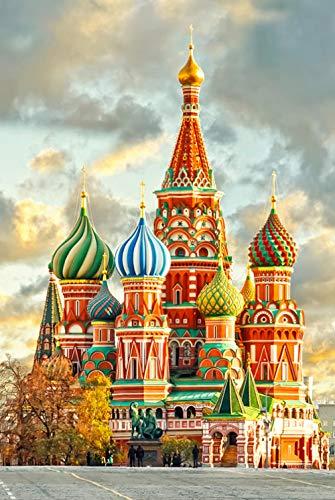 Rompecabezas clásico de 500 Piezas, versión Vertical, Arte de la Iglesia, Arte, educación, Regalo, decoración del hogar, Rompecabezas Grande