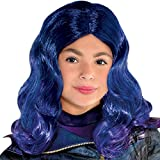 Party City Descendants 3 Mal Wig Halloween Costume Accessory for Girls, One Size