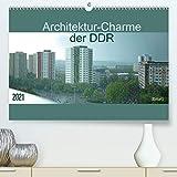 Architektur-Charme der DDR (Erfurt) (Premium, hochwertiger DIN A2 Wandkalender 2021, Kunstdruck in Hochglanz)