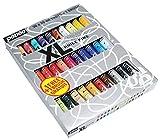 Pébéo 920231 Studio XL - Pinturas al óleo (30 tubos diferentes, 20 ml) con pincel
