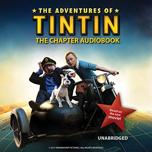 The Adventures of Tintin: The Chapter Book audiobook cover art