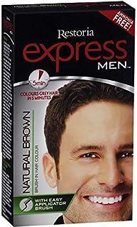 Restoria Express Men Natural Brown Hair Colour-80gm