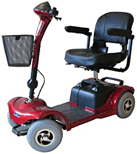 Explorer 4 Mobility Scooter, Car Transportable (Boot), NEW, Portable, Class 2, Pavement, Light Weight