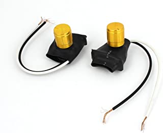 Aexit 2pcs (Control electrical) AC220V 1A Bedroom Desk Table Lamp Light Bulb Dimmer (56ry218qf189) Control Switch