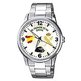 CASIO® Reloj Guardia Civil Fondo Blanco con Escudo Metálico Sumergible