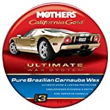 Mothers 35550 California Gold Pure Brazilian Carnauba Wax Paste - Step 3, 12-Ounce