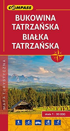 Bukowina/Białka Tatrzańska. Mapa turystyczna