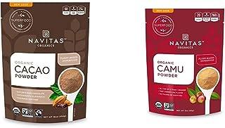 Navitas Organics Cacao Powder, 16oz. Bag - Organic, Non-GMO, Fair Trade, Gluten-Free & Camu Camu Powder, 3 oz. Bag — Organ...