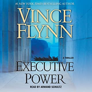 Executive Power audiobook cover art