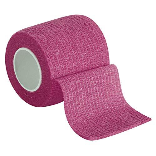 Joyce Hugh vendaje elástico autoadherente cinta de deporte fija presurizada para muñeca, esguinces de tobillo e hinchazón, 0, rosa, large